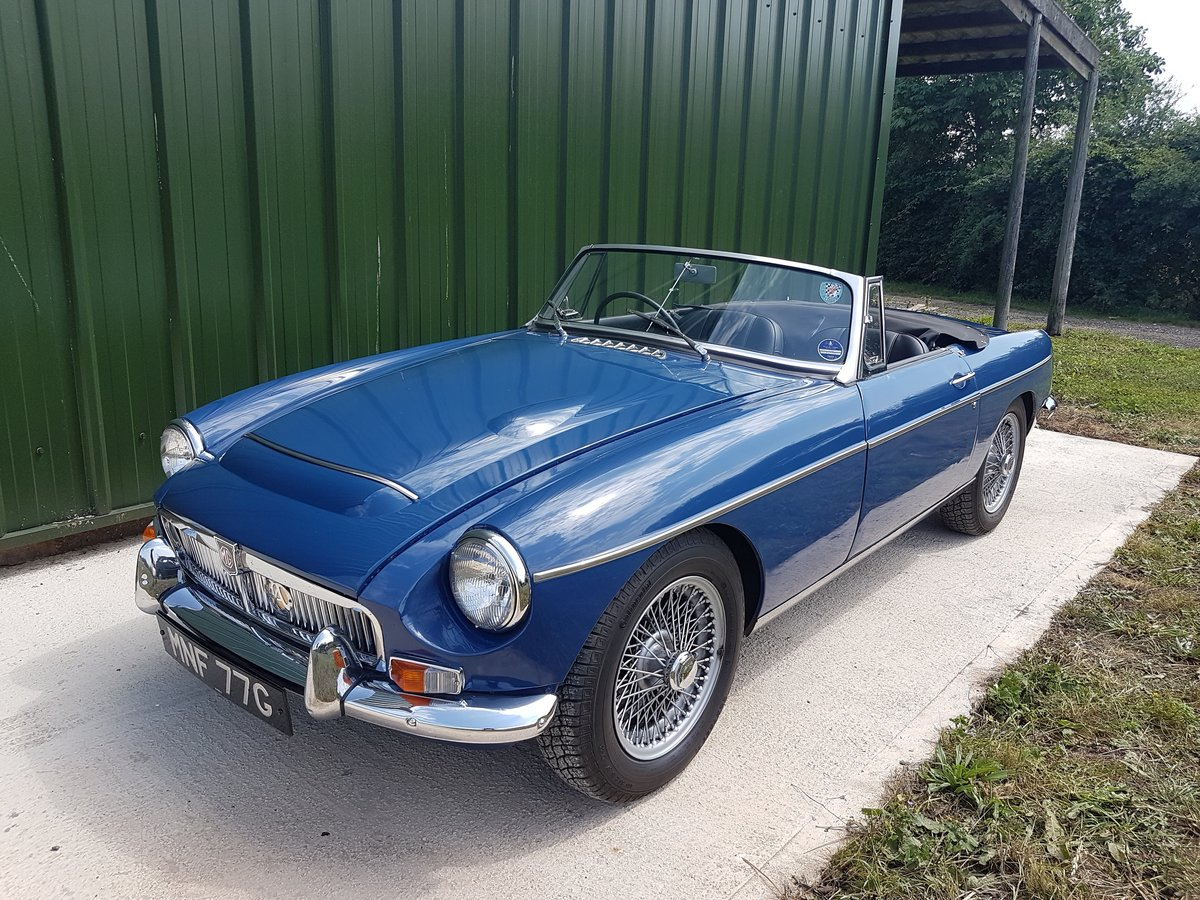 1969 MGC 2.9 ltr Roadster SOLD (picture 4 of 6)