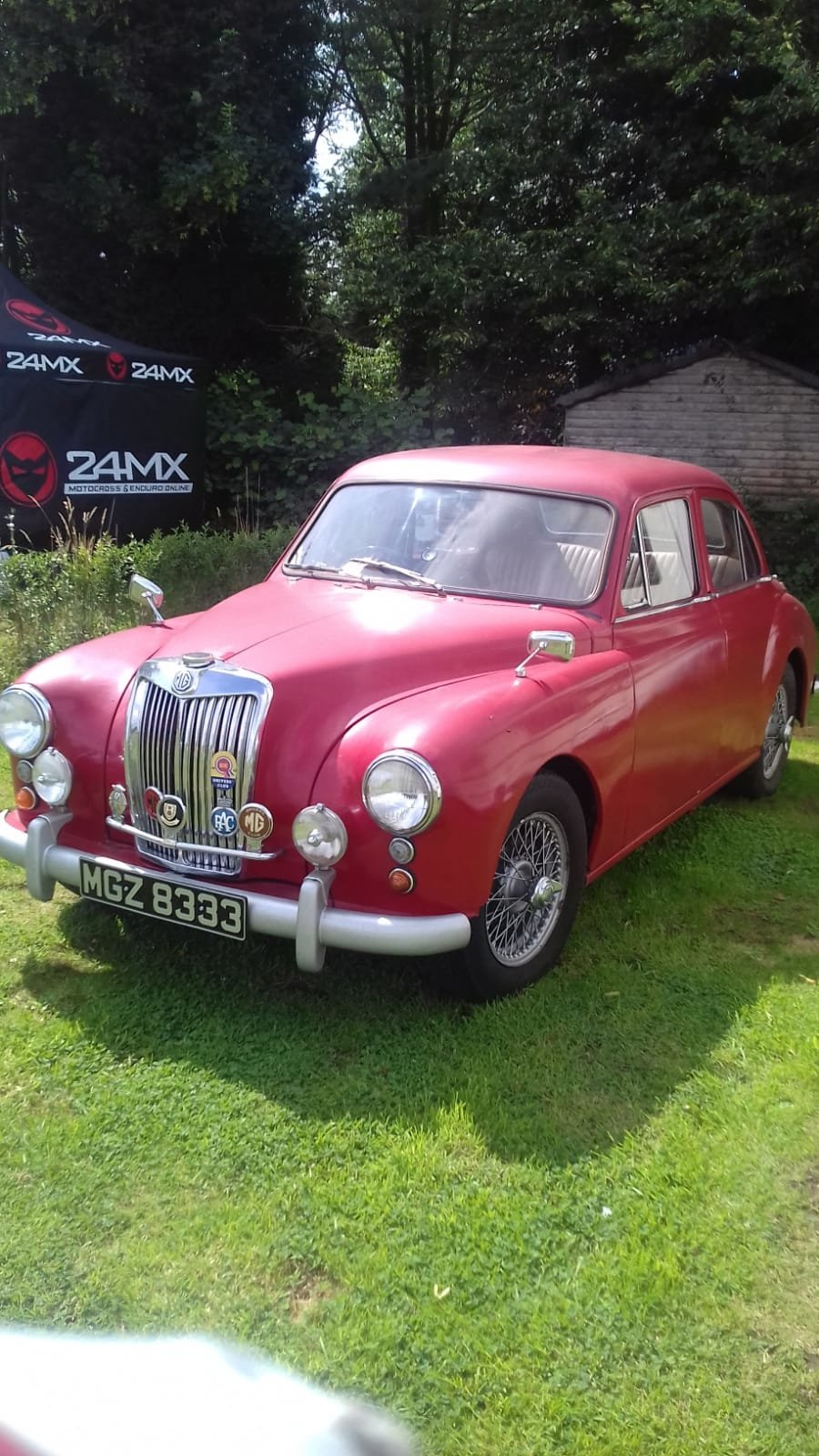 1956 MG ZA  lovely car, road running restoration. SOLD (picture 1 of 6)