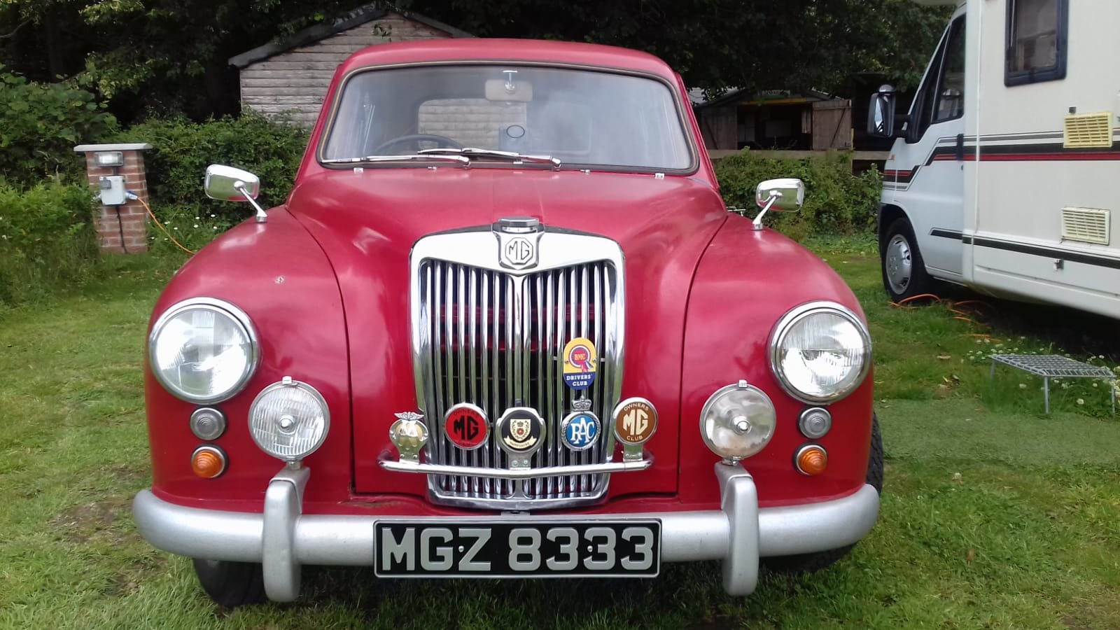 1956 MG ZA  lovely car, road running restoration. SOLD (picture 2 of 6)