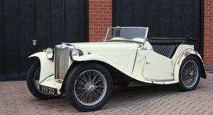 1938 MG TA SOLD