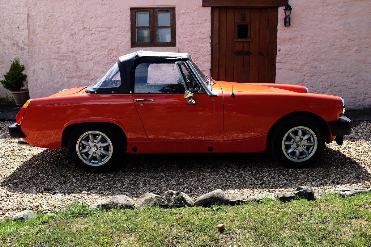 1979 MG Midget 1500 in Blaze Red V registration  For Sale (picture 1 of 6)