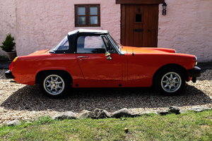 1979 MG Midget 1500 in Blaze Red V registration  For Sale