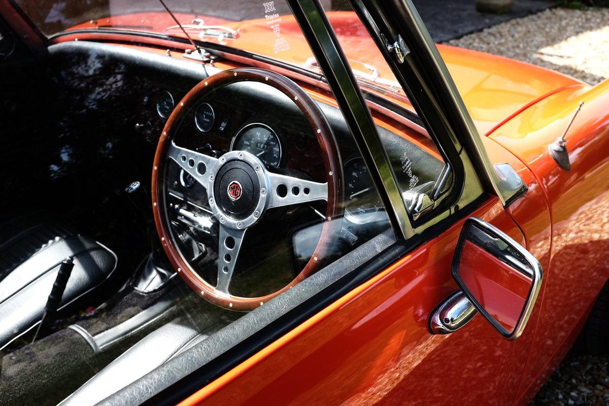 1979 MG Midget 1500 in Blaze Red V registration  For Sale (picture 3 of 6)