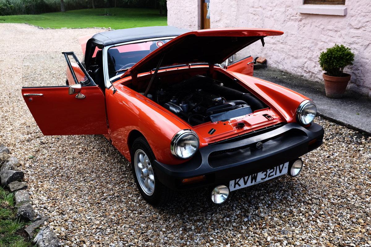 1979 MG Midget 1500 in Blaze Red V registration  For Sale (picture 4 of 6)