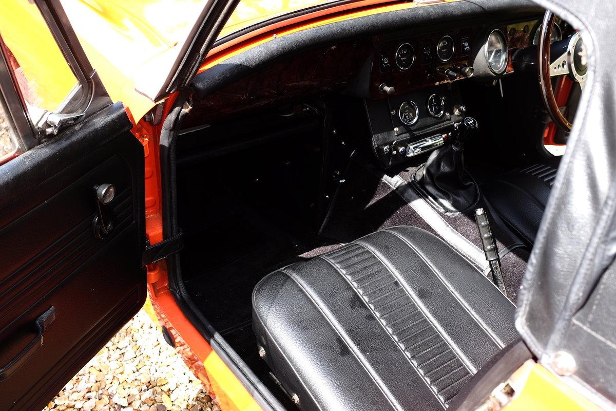 1979 MG Midget 1500 in Blaze Red V registration  For Sale (picture 6 of 6)