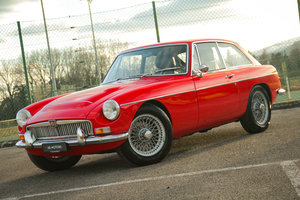 Very nice 1969 MG MGC GT LHD with huge history file For Sale