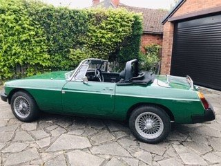 MG MGB Roadster 1977