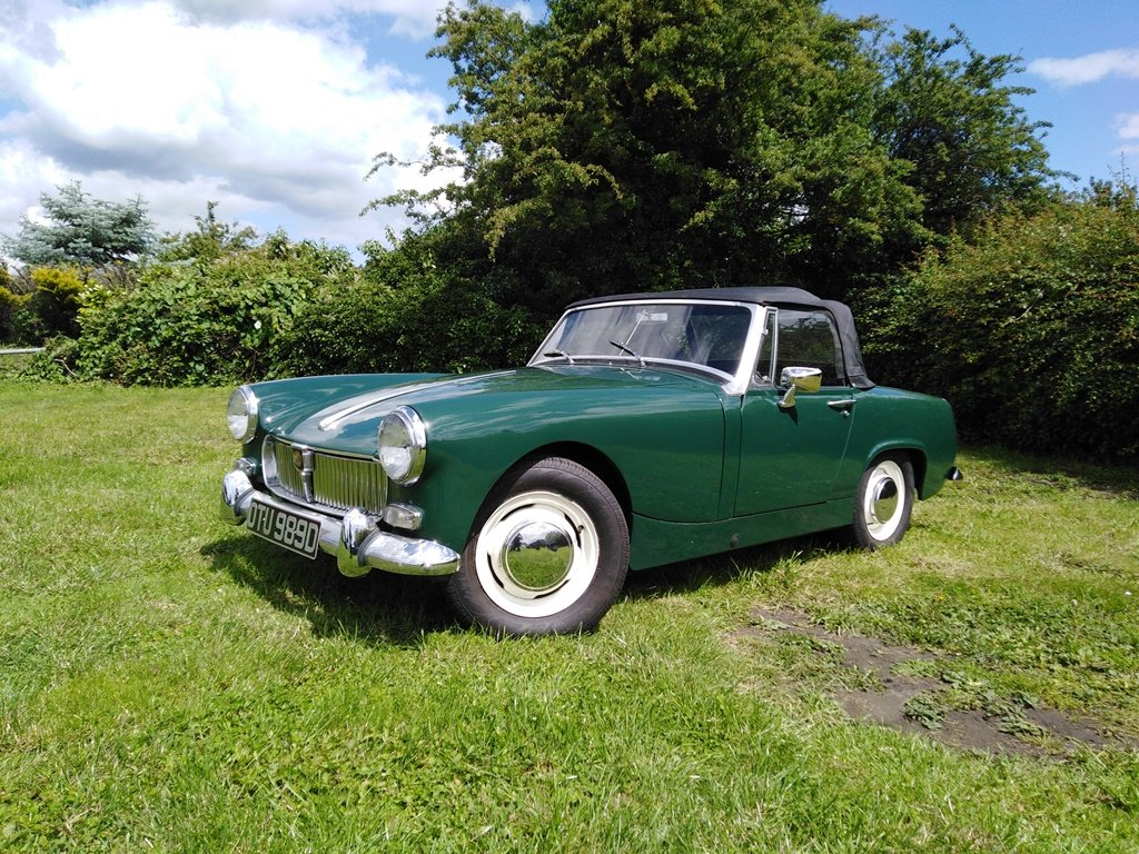 1966 Mk 2 MG Midget For Sale (picture 1 of 6)
