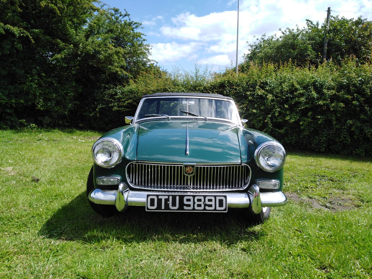 1966 Mk 2 MG Midget For Sale (picture 2 of 6)