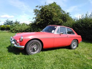 1967 Red MG B GT For Sale