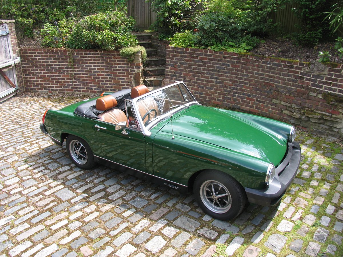 1975 SHOWROOM CONDITION MG MIDGET For Sale (picture 1 of 6)
