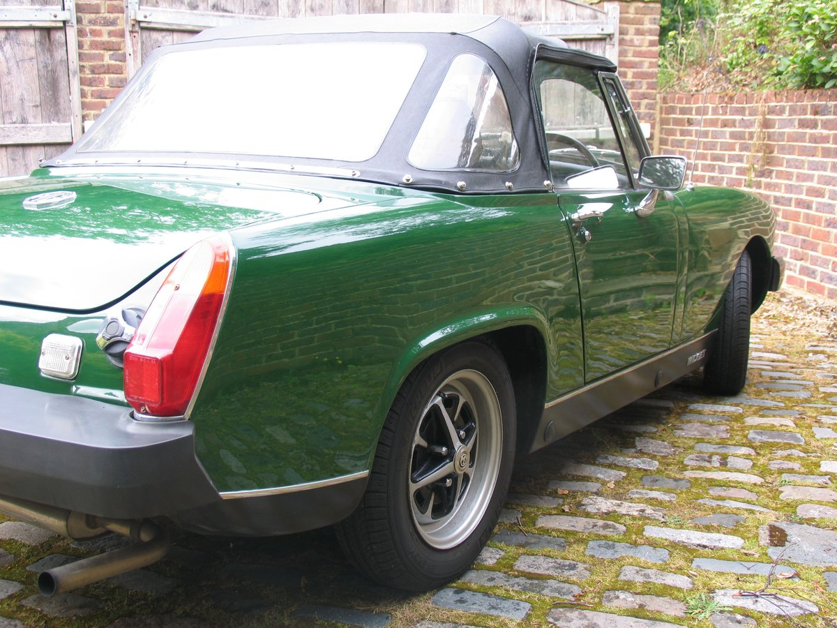 1975 SHOWROOM CONDITION MG MIDGET For Sale (picture 4 of 6)