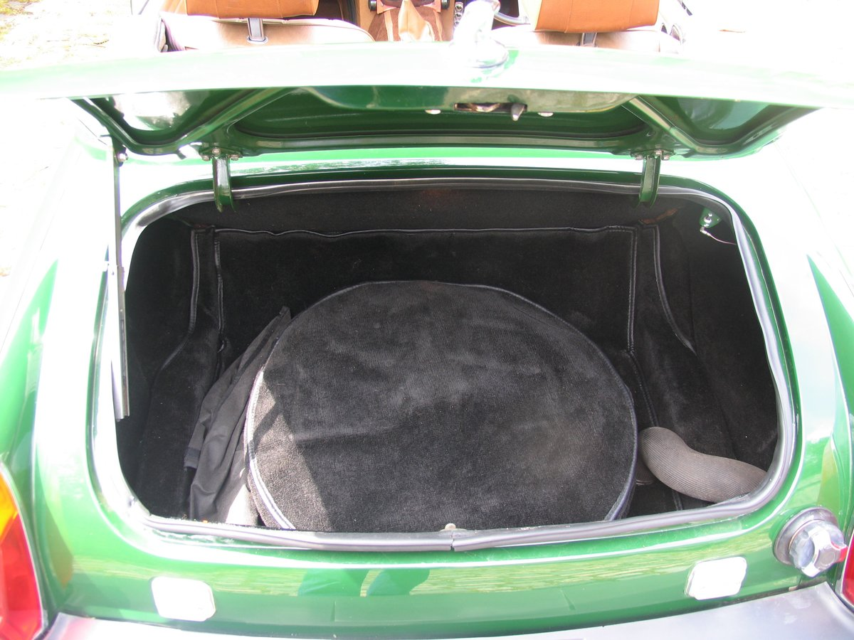 1975 SHOWROOM CONDITION MG MIDGET For Sale (picture 6 of 6)