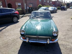 1972 MGB GT original Chrome Bumper For Sale