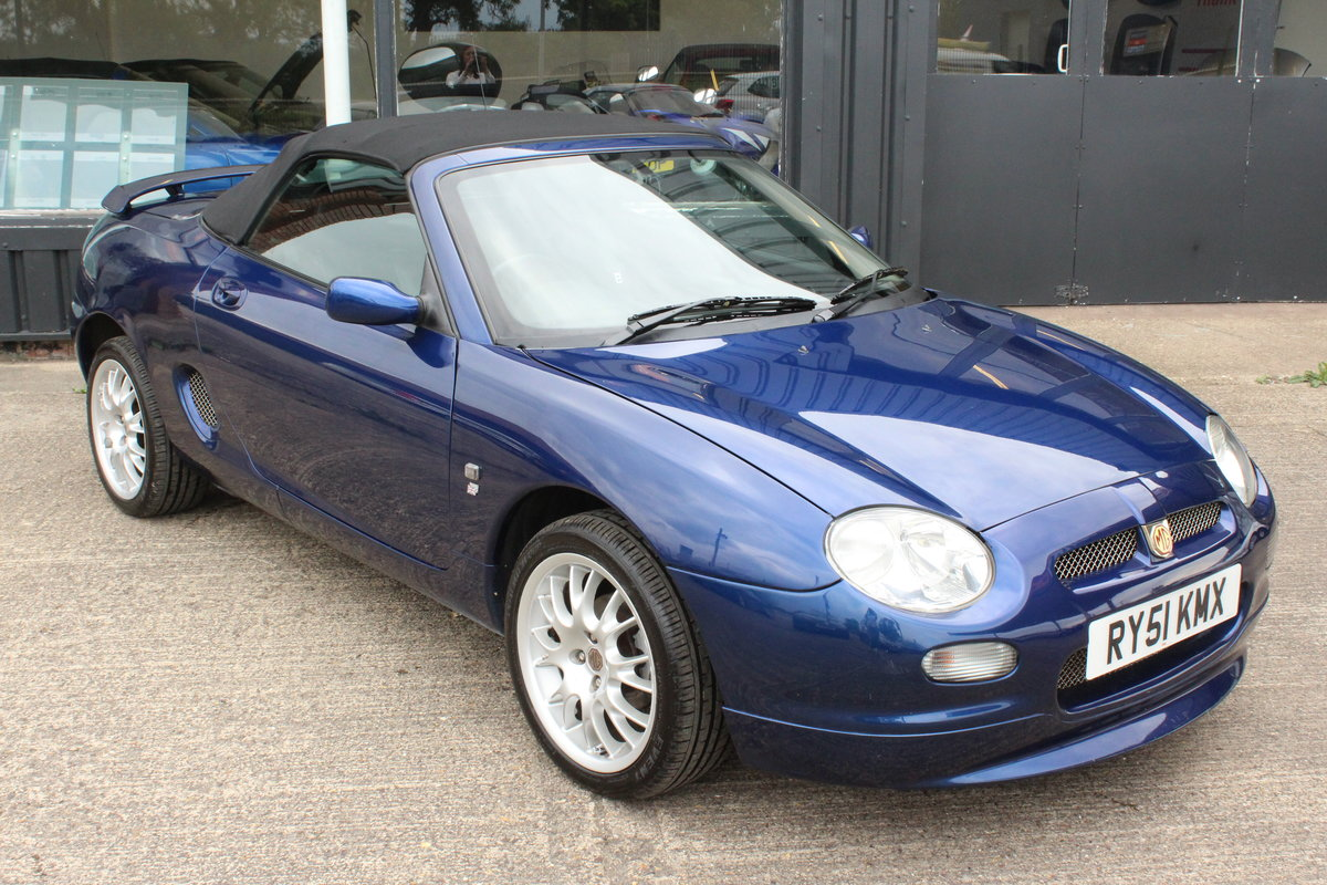 2001 2000 MGF FREESTYLE,49000 MILES,FULL LEATHER,NEW HEADGASKET For Sale (picture 1 of 6)