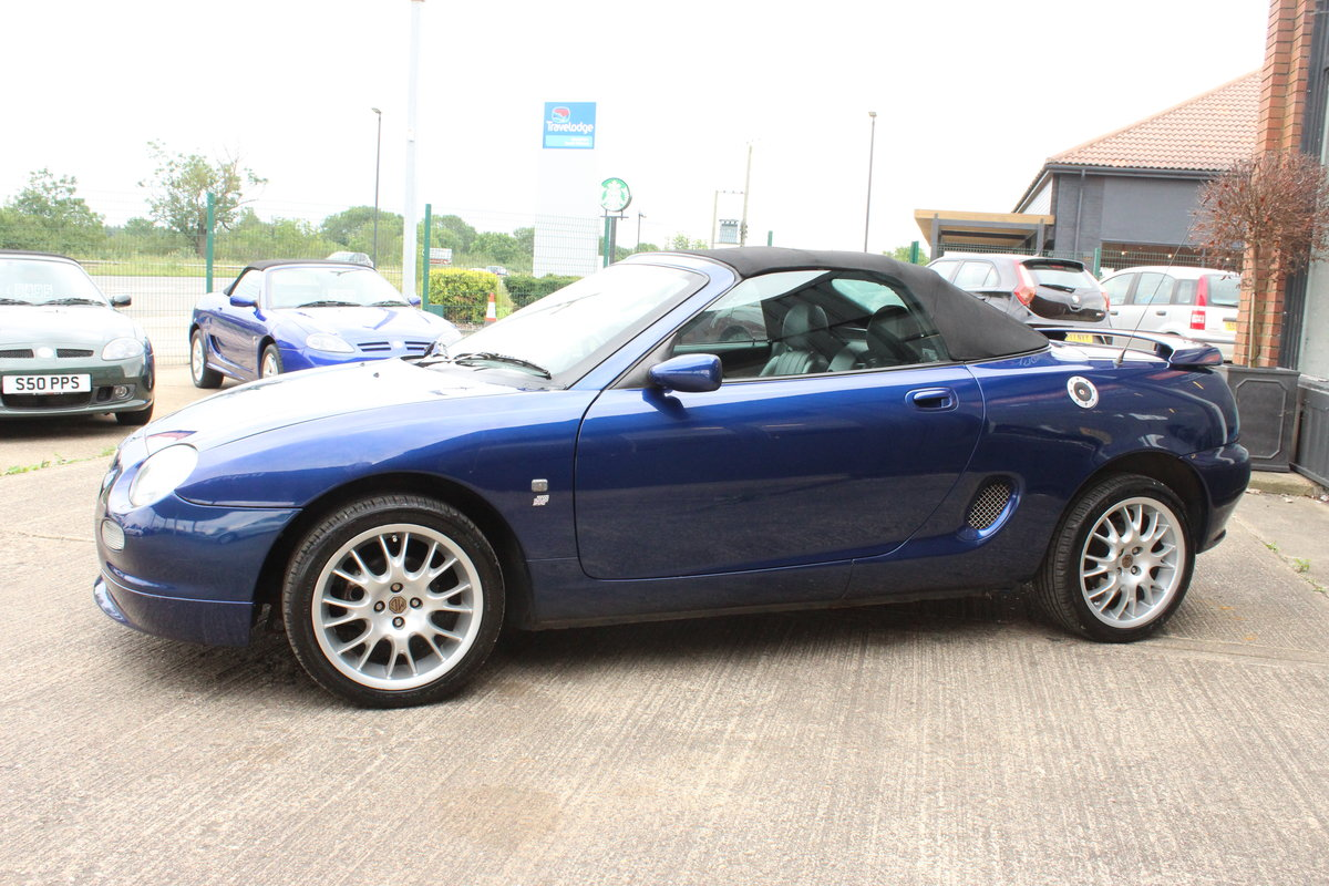 2001 2000 MGF FREESTYLE,49000 MILES,FULL LEATHER,NEW HEADGASKET For Sale (picture 2 of 6)