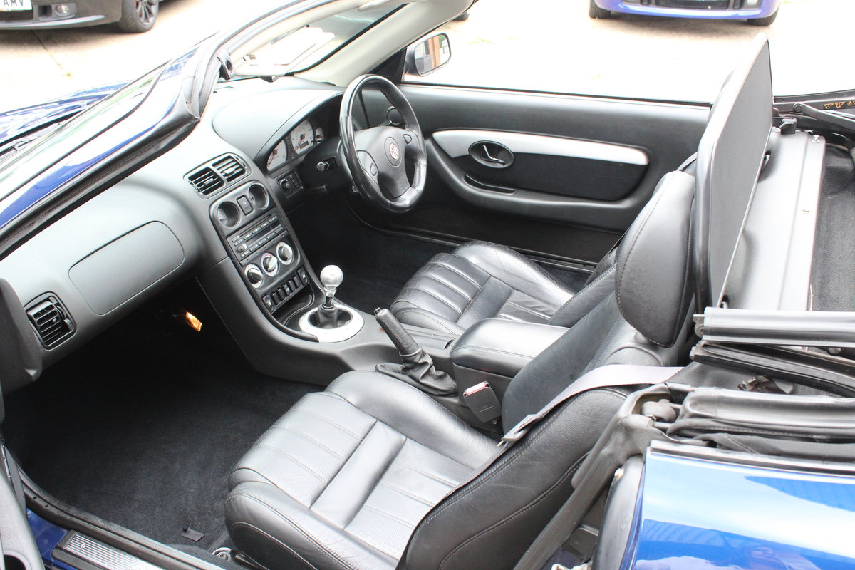 2001 2000 MGF FREESTYLE,49000 MILES,FULL LEATHER,NEW HEADGASKET For Sale (picture 3 of 6)