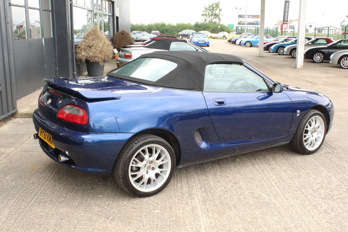 2001 2000 MGF FREESTYLE,49000 MILES,FULL LEATHER,NEW HEADGASKET For Sale (picture 4 of 6)