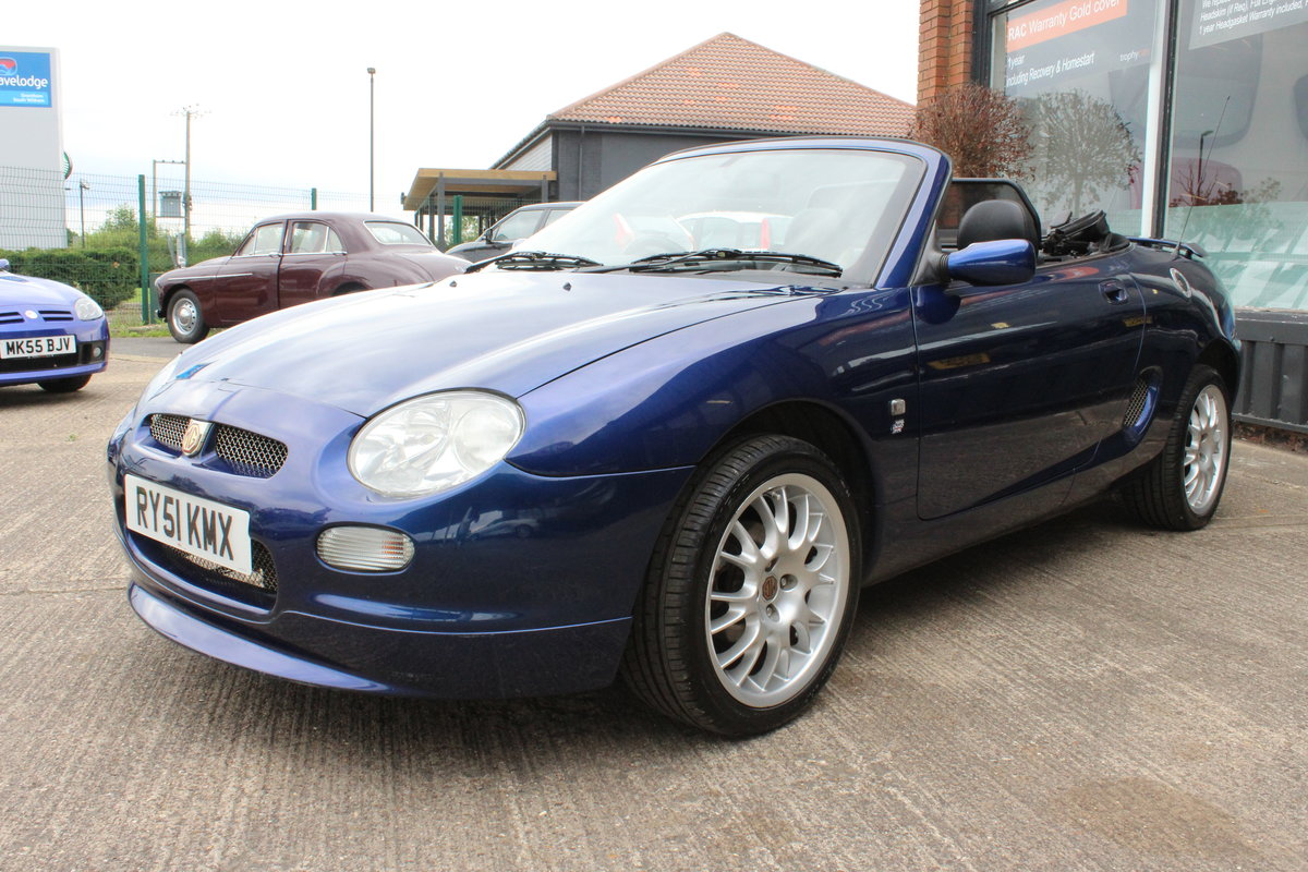 2001 2000 MGF FREESTYLE,49000 MILES,FULL LEATHER,NEW HEADGASKET For Sale (picture 5 of 6)