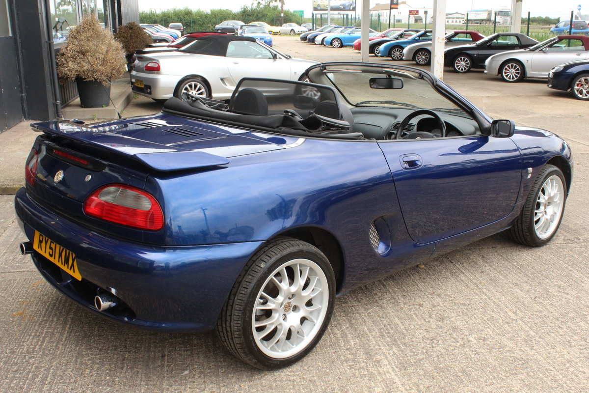2001 2000 MGF FREESTYLE,49000 MILES,FULL LEATHER,NEW HEADGASKET For Sale (picture 6 of 6)
