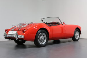 1957 MGA Roadster with a modern twist for today's hectic traffic For Sale