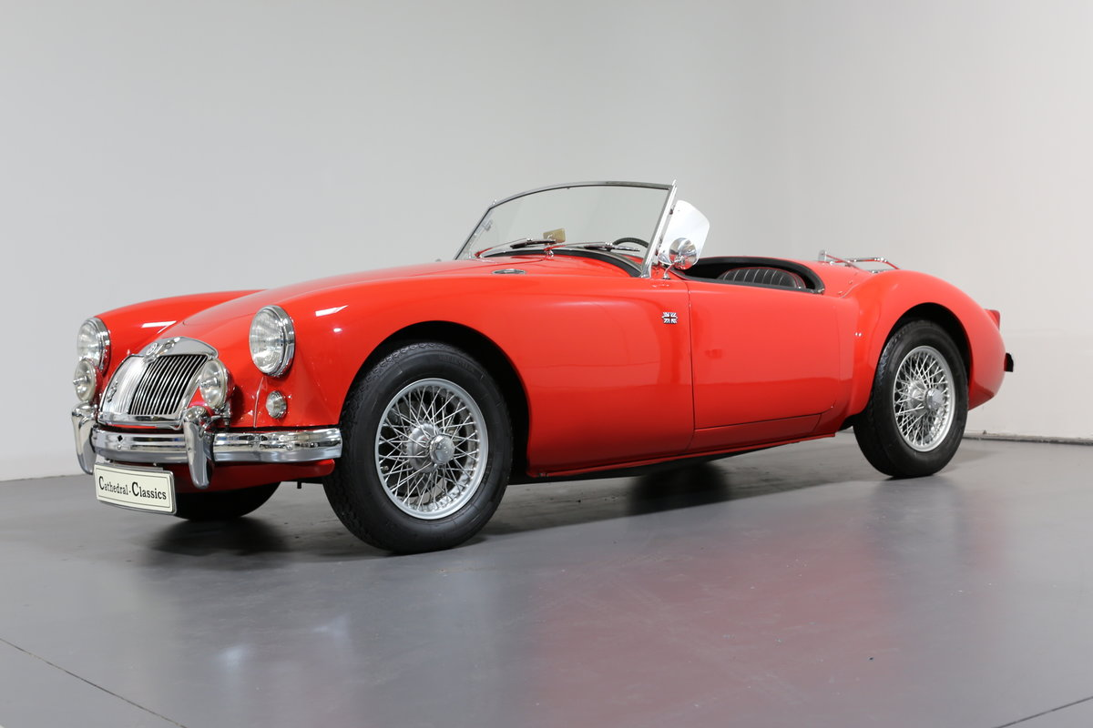 1957 MGA Roadster with a modern twist for today's hectic traffic SOLD (picture 2 of 6)