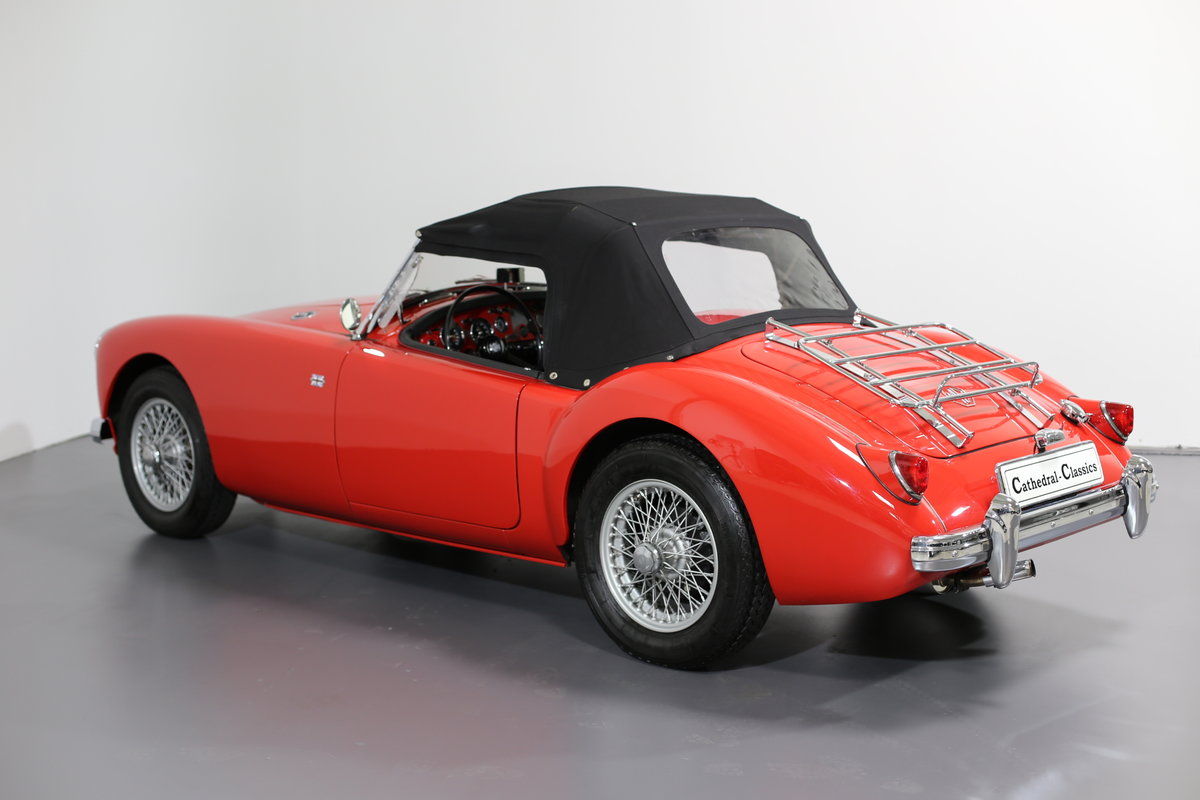 1957 MGA Roadster with a modern twist for today's hectic traffic SOLD (picture 5 of 6)