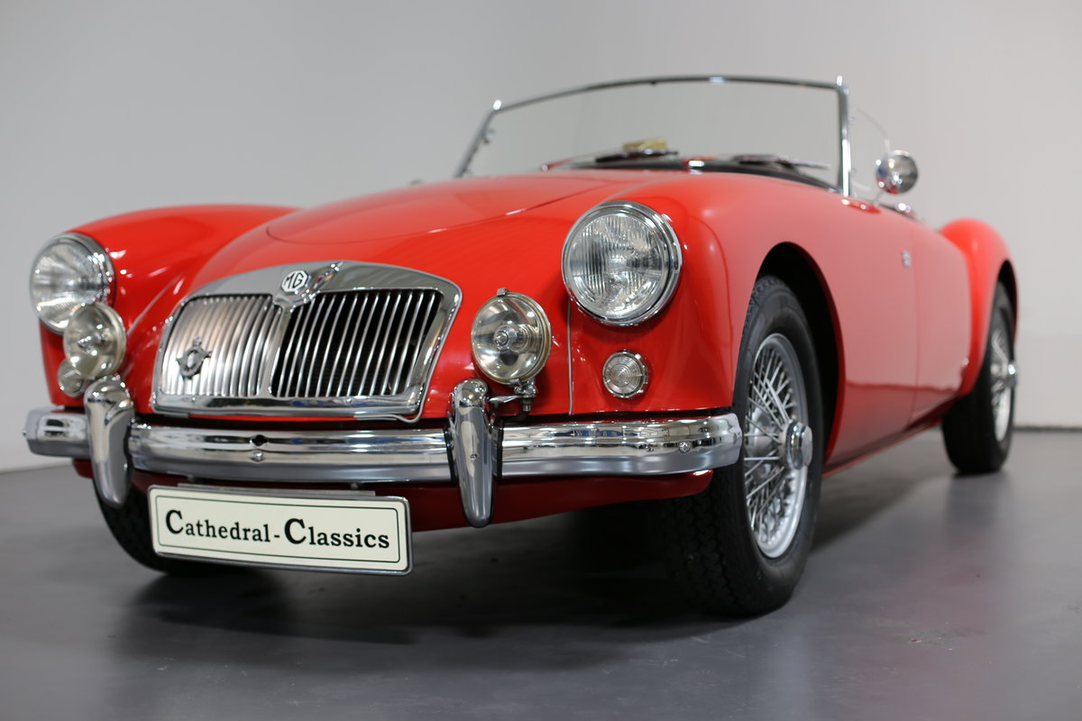 1957 MGA Roadster with a modern twist for today's hectic traffic SOLD (picture 6 of 6)