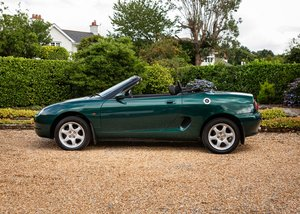 1997 MG F For Sale by Auction