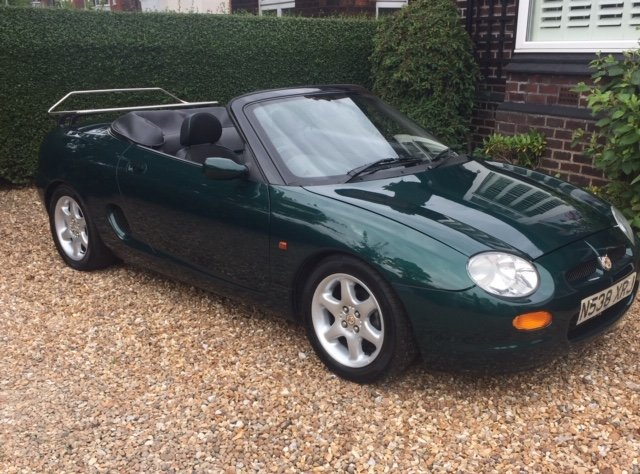 1996 MGF Very early with only 20000 miles For Sale (picture 1 of 6)