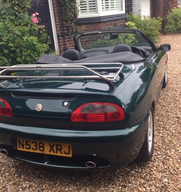 1996 MGF Very early with only 20000 miles For Sale (picture 2 of 6)