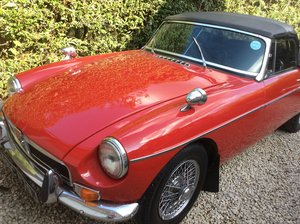 Fabulous MKII 1970 Red MGB Roadster For Sale