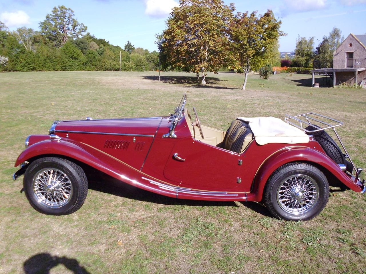 1954 concours MG TF Midget For Sale (picture 3 of 6)