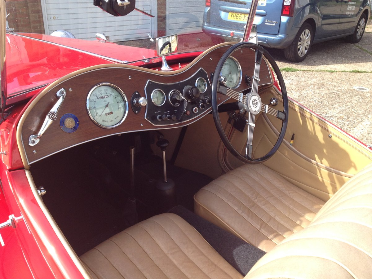 1936 MG TA Midget SOLD (picture 2 of 6)