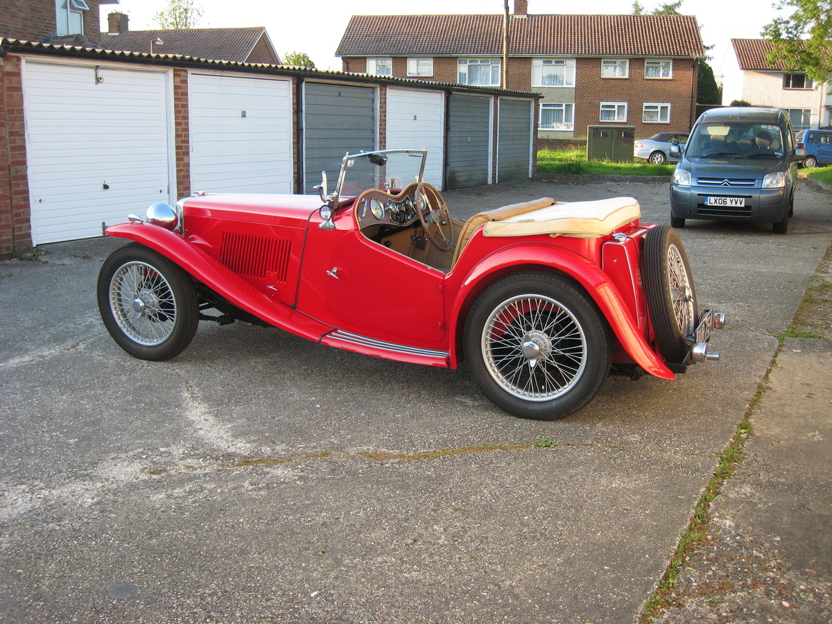1936 MG TA Midget SOLD (picture 6 of 6)