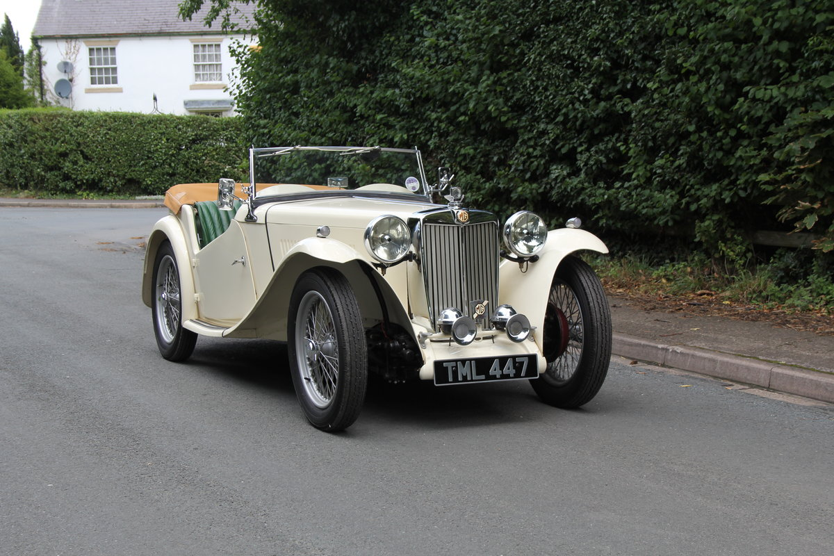 1949 MG TC - 1 owner 46 years, 650 miles since rebuild SOLD (picture 1 of 19)