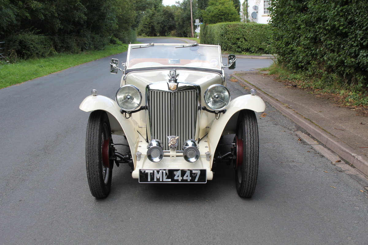 1949 MG TC - 1 owner 46 years, 650 miles since rebuild SOLD (picture 2 of 19)