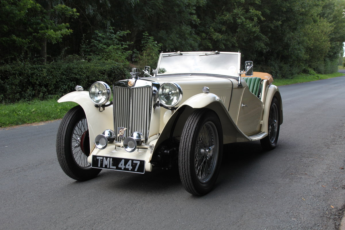 1949 MG TC - 1 owner 46 years, 650 miles since rebuild SOLD (picture 3 of 19)