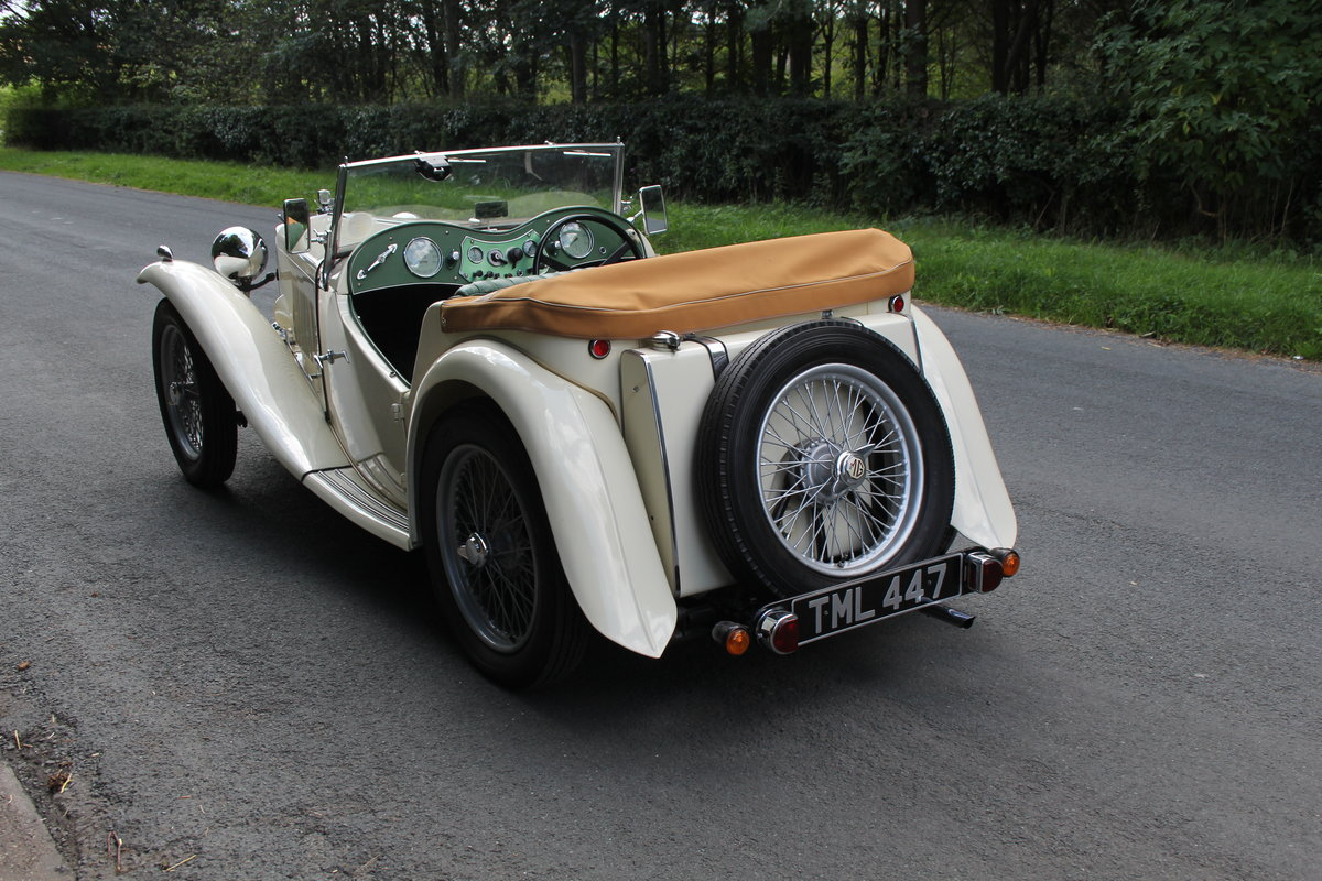 1949 MG TC - 1 owner 46 years, 650 miles since rebuild SOLD (picture 4 of 19)