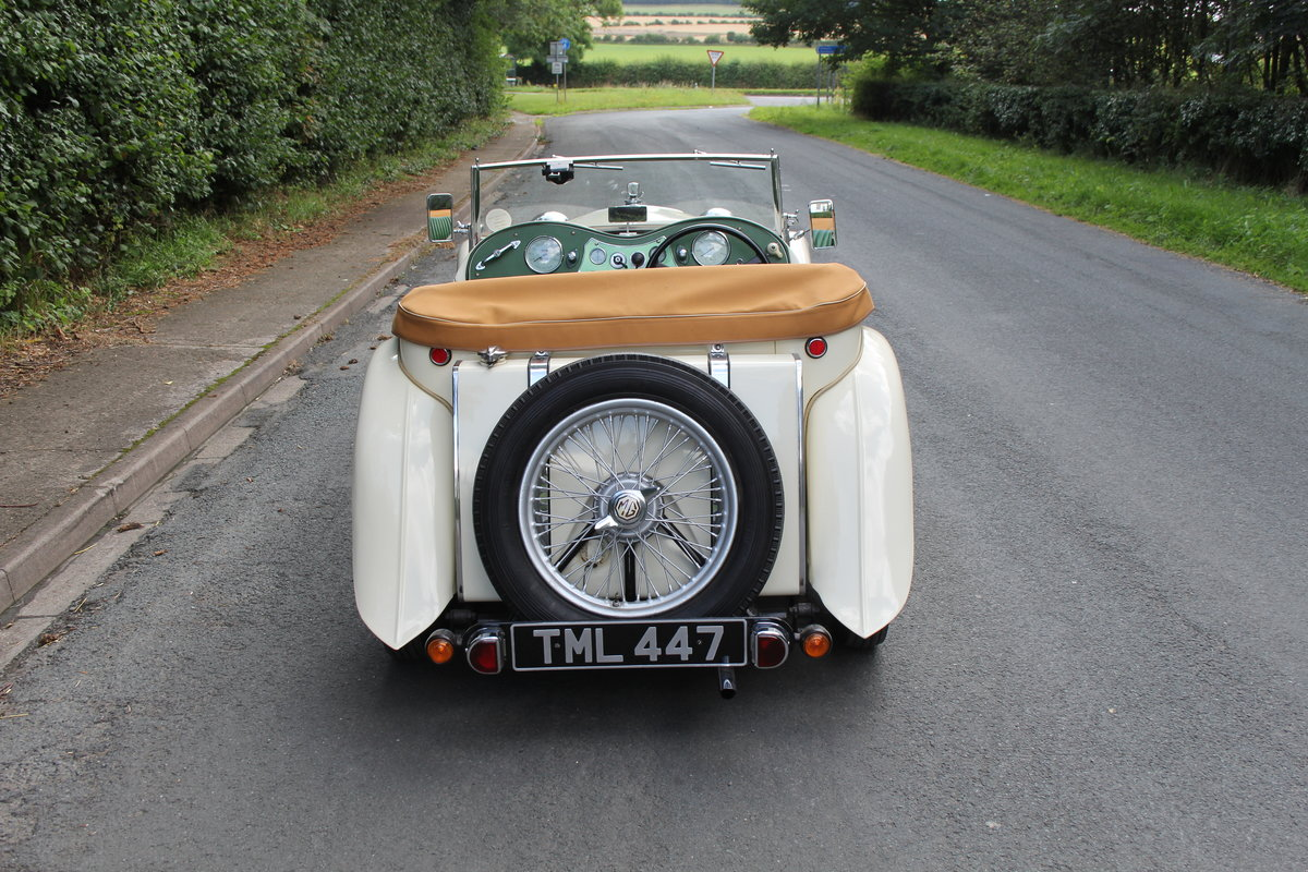 1949 MG TC - 1 owner 46 years, 650 miles since rebuild SOLD (picture 5 of 19)