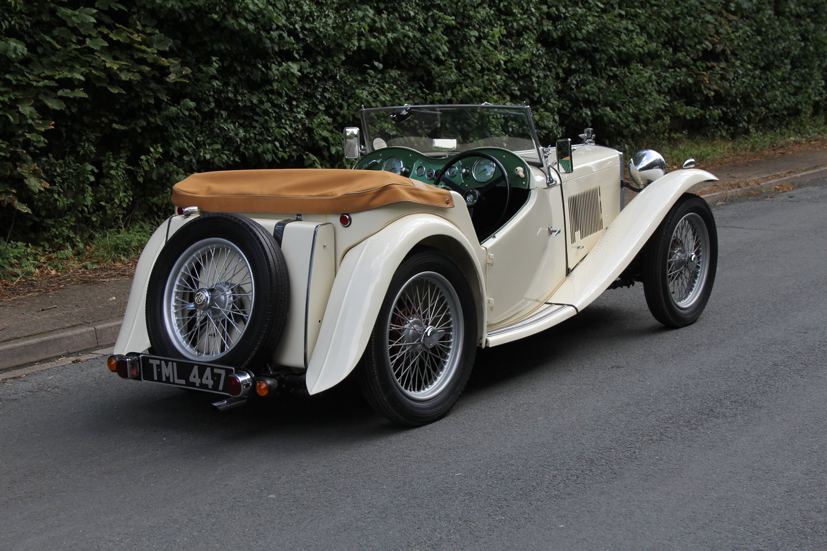 1949 MG TC - 1 owner 46 years, 650 miles since rebuild SOLD (picture 6 of 19)