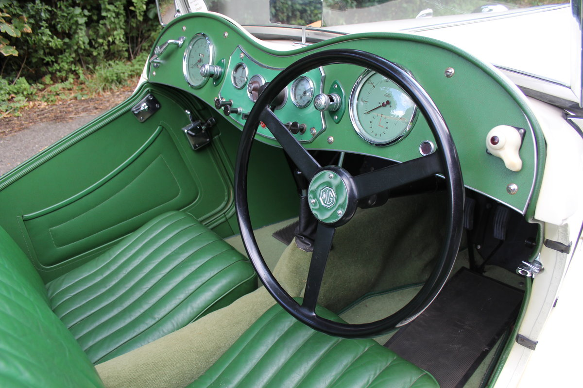 1949 MG TC - 1 owner 46 years, 650 miles since rebuild SOLD (picture 7 of 19)