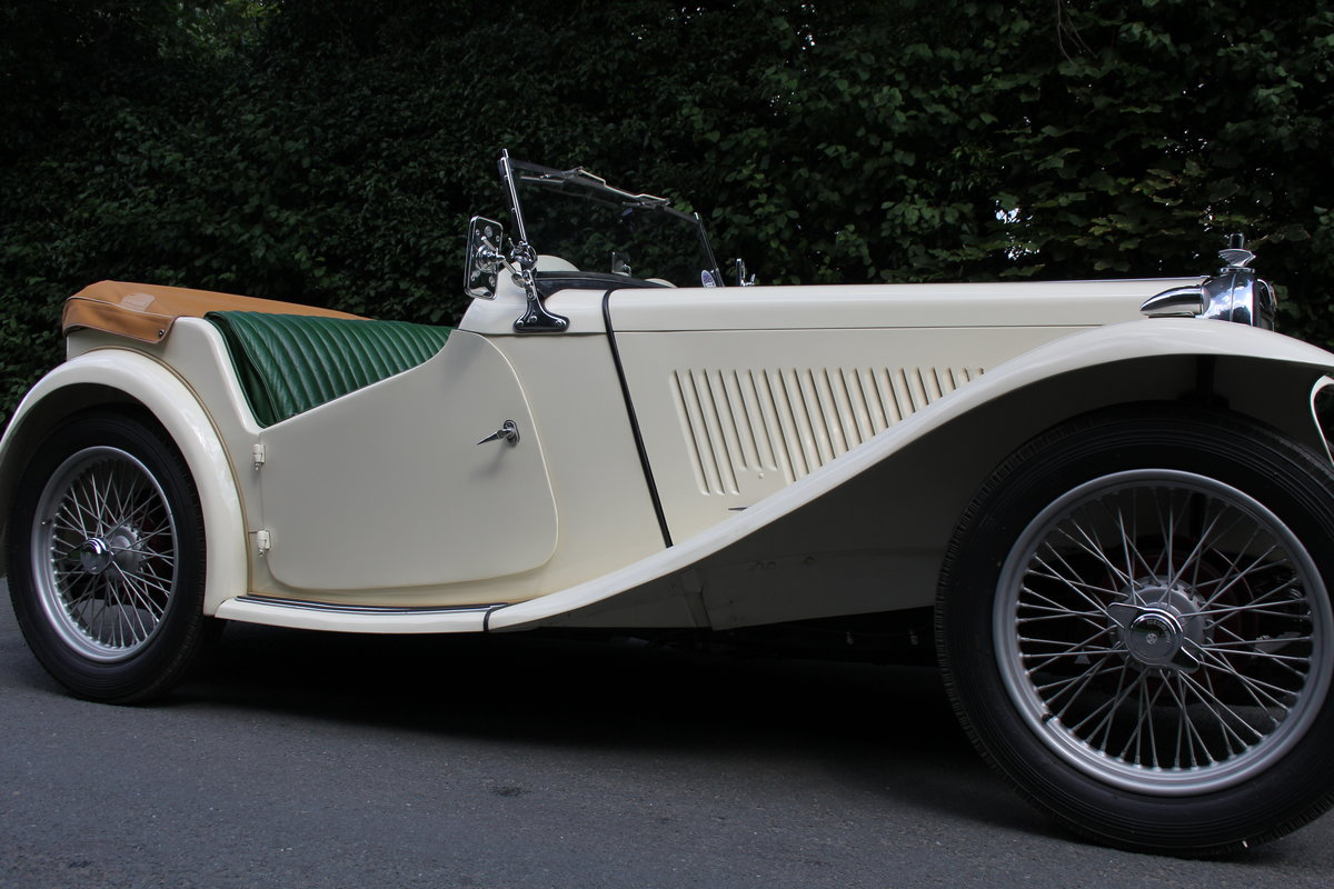 1949 MG TC - 1 owner 46 years, 650 miles since rebuild SOLD (picture 19 of 19)