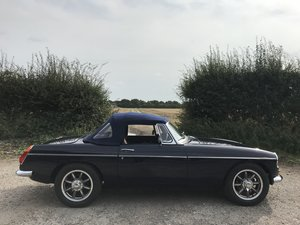 1978 MGB 3.5 V8 Roadster rebuild For Sale
