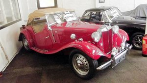 1952 MGTD 1250cc SPORTS CONVERTIBLE TOURER For Sale