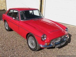 MGC GT 6 Cylinder 3 litre For Sale
