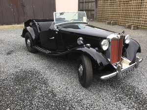 1952 MG TD Fabulous car for a special collector For Sale