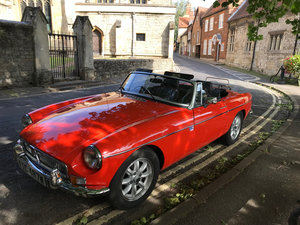 1981 MG Roadster W reg, 1,798cc For Sale