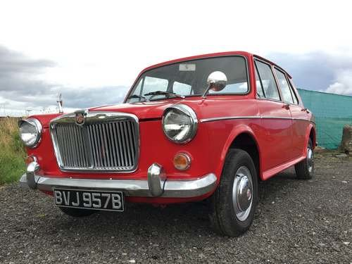 1964 MG 1100 De-Luxe at Morris Leslie Auction 17th August SOLD by Auction (picture 1 of 6)