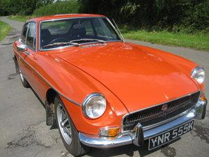 1971 MGB GT deposit taken For Sale